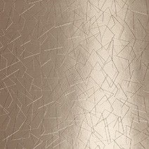 Alu. Metrica teinté bronze