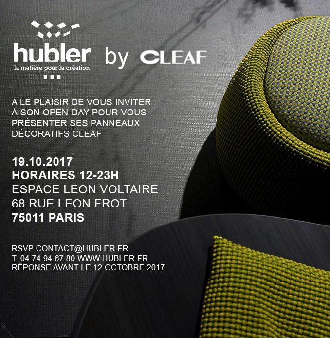Hubler TSS by cleaf - mélaminé - stratifié - thermostructuré - panneaux déco innovants