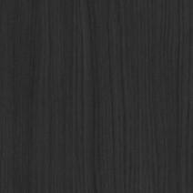 Coordonné - Chêne de fil teinté noir