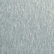 Acier inoxydable brossé incolore