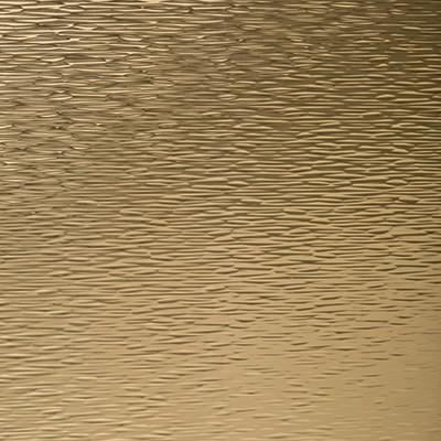 Alu. Polished Cella Goldtone