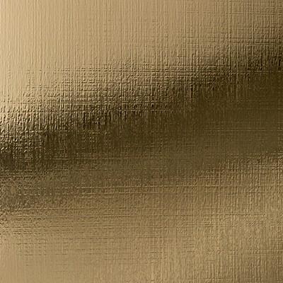 Alu. Polished Crossline Goldtone