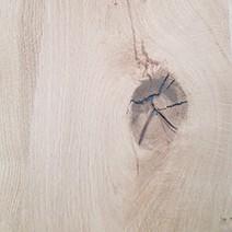 Chêne naturel effet poutre brossé