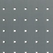 """Alu. """"Rivets carrés"""" fond teinté gris anthracite"""