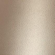 Alu. Martelé teinté bronze